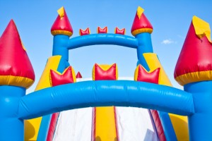 bounce house image